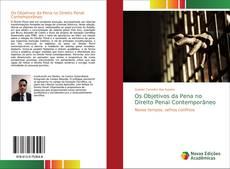 Capa do livro de Os Objetivos da Pena no Direito Penal Contemporâneo