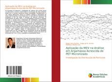 Capa do livro de Aplicação da MEV na Análise em Argamassa Acrescida de PET Micronizado