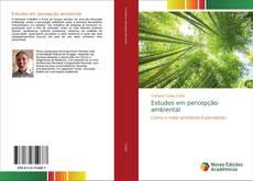 Bookcover of Estudos em percepção ambiental