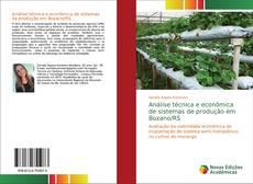 Portada del libro de Análise técnica e econômica de sistemas de produção em Bozano/RS