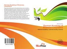Bookcover of German Academy of Sciences Leopoldina