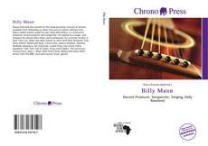 Capa do livro de Billy Mann