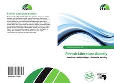 Bookcover of Finnish Literature Society