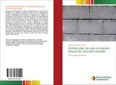 Portada del libro de Contenções de solo utilizando blocos de concreto armado