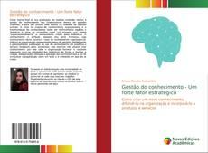 Обложка Gestão do conhecimento - Um forte fator estratégico