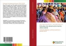 Copertina di Estudos do desenvolvimento 2015-2016
