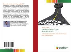 Capa do livro de Gerando renda com impressão 3D