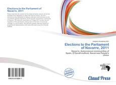 Capa do livro de Elections to the Parliament of Navarre, 2011