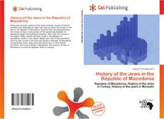 Bookcover of History of the Jews in the Republic of Macedonia