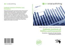 Portada del libro de Gokhale Institute of Politics and Economics