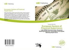 Couverture de European System of Financial Supervisors