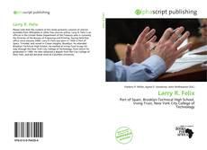 Capa do livro de Larry R. Felix