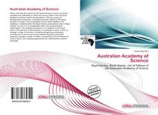 Bookcover of Australian Academy of Science