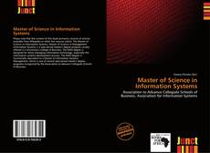 Bookcover of Master of Science in Information Systems