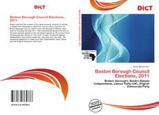 Portada del libro de Boston Borough Council Elections, 2011