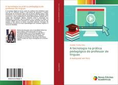Capa do livro de A tecnologia na prática pedagógica do professor de línguas
