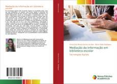 Copertina di Mediação da informação em biblioteca escolar