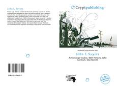 Bookcover of John L Sayers