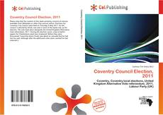 Bookcover of Coventry Council Election, 2011
