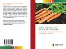Buchcover von Cadeia de produção de cenoura em Carandaí/MG