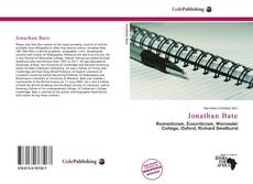 Bookcover of Jonathan Bate