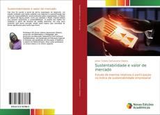 Capa do livro de Sustentabilidade e valor de mercado