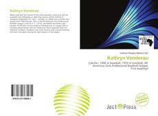 Bookcover of Kathryn Vonderau