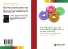 Capa do livro de Ambiente colaborativo de ensino/aprendizagem a partir da Web Semântica