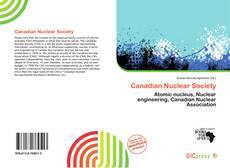 Canadian Nuclear Society kitap kapağı