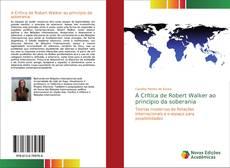 Buchcover von A Crítica de Robert Walker ao princípio da soberania