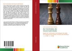 Capa do livro de As Condições da Governabilidade