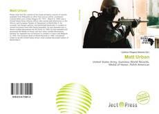 Bookcover of Matt Urban