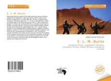 Обложка E. L. M. Burns