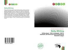 Betty Whiting的封面