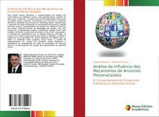 Bookcover of Análise da Influência dos Mecanismos de Anúncios Personalizados
