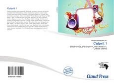 Bookcover of Culprit 1