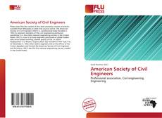 Bookcover of American Society of Civil Engineers