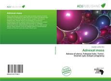 Adnexal mass kitap kapağı