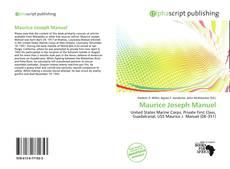 Bookcover of Maurice Joseph Manuel