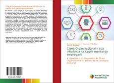Capa do livro de Clima Organizacional e sua influência na saúde mental do empregado