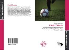 Portada del libro de Ewald Cebula