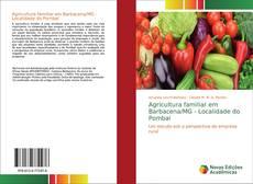 Capa do livro de Agricultura familiar em Barbacena/MG - Localidade do Pombal