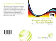Bookcover of European Association for Structural Dynamics