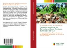 Borítókép a  Programa Municipal de Gerenciamento de Resíduos da Construção Civil - hoz