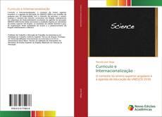 Capa do livro de Curriculo e Internacionalização