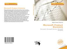 Bookcover of Microsoft Product Divisions