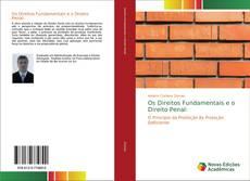 Bookcover of Os Direitos Fundamentais e o Direito Penal: