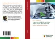 Copertina di Implementação de políticas públicas em Moçambique