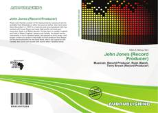 Bookcover of John Jones (Record Producer)