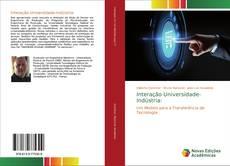 Capa do livro de Interação Universidade-Indústria: